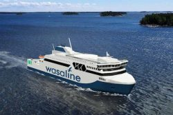 Wasaline LNG Ferry illustration