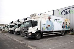 Scania P280 CNG for Bidfood