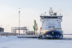 Polaris bunkers LNG at Tornio Feb2019