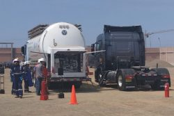 Ham Group installs mobile LNG fuel station