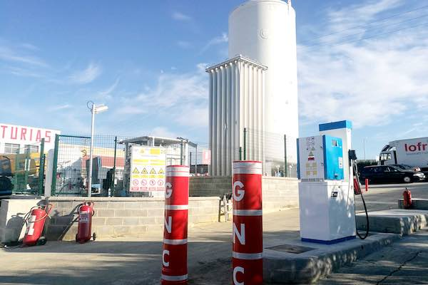HAM opens L-CNG station in Asturias