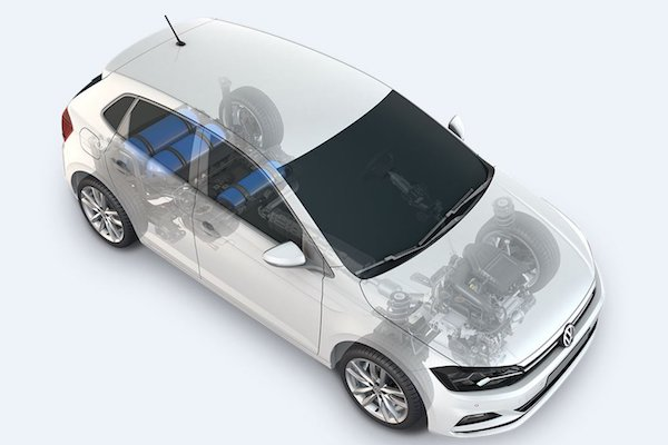 VW Polo TGI with new CNG tank system