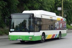 MAN CNG bus of Gabrovo municipality fleet