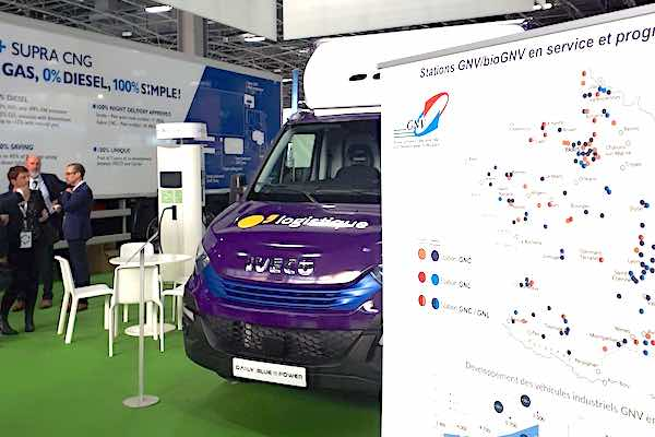 GRDF at SITL with IVECO Daily for Casino Groupe
