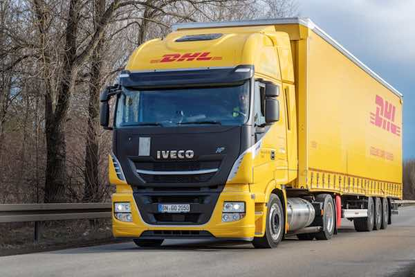 IVECO Stralis NP for Deutsche Post DHL