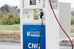 Tamoil and Snam image CNG dispenser