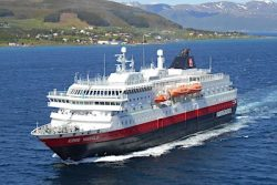 Hurtigruten vessel