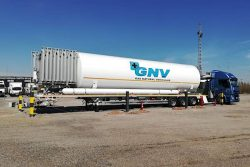 HAM Mobile LNG Refueler station in Valencia