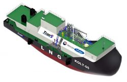 Trans Gas Solution - Korea - Kolt 05 LNG Barge Design