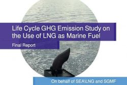 SEA\LNG and SGMF Study Marine Fuel - Cover Image