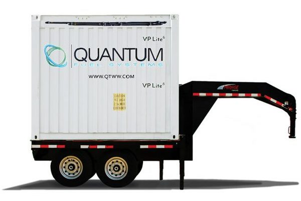Quantum 10ft mobile trailer