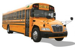 Blue Bird Vision CNG School Bus