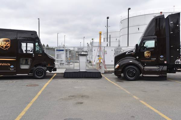 UPS Kenworth and Delivery