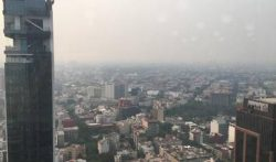 Dirty air over Mexico City 2019