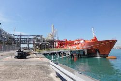 Pavilion Energy first ship-to-ship LNG bunkering