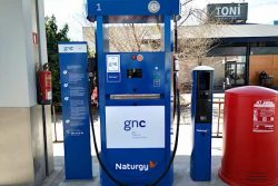 Naturgy CNG station at Mataró