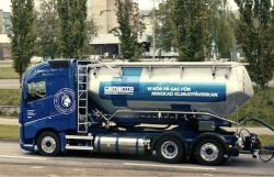 Volvo FH LNG for Cementa