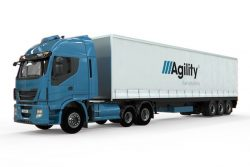 Agility launches 6×2 CNG tractor with trailer-mounted CNG fuel storage system