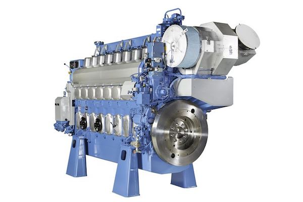 Wartsila 20DF engine
