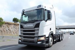 Scania R410 A6X2NA in Mexico