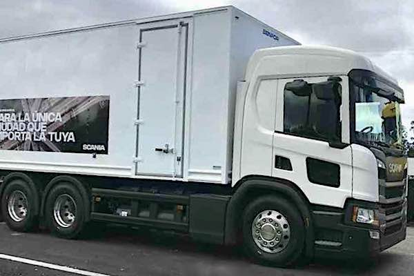 Scania introduces new trucks - image by autocosmos.com