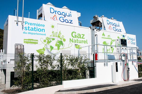 Inauguration Dragui Gaz CNG filling station