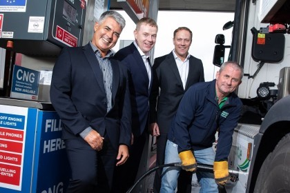 GNI Circle K first public CNG station at Dublin Port facility