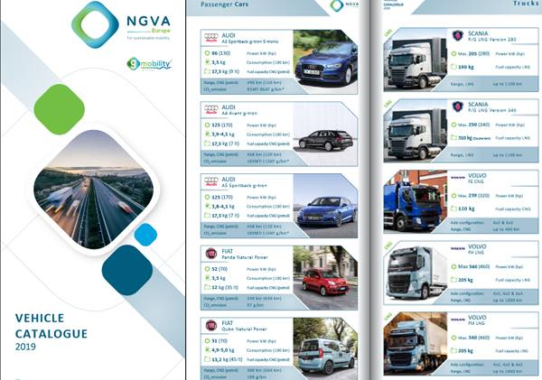 NGVA Europe 2019 Vehicle catalogue cover