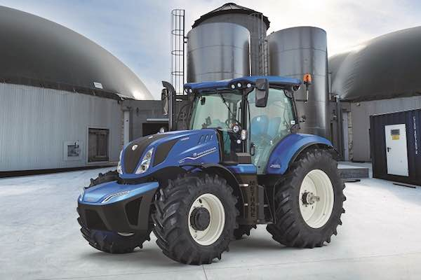 New Holland T6 Methane Power Sustainable Tractor of the Year 2020 600