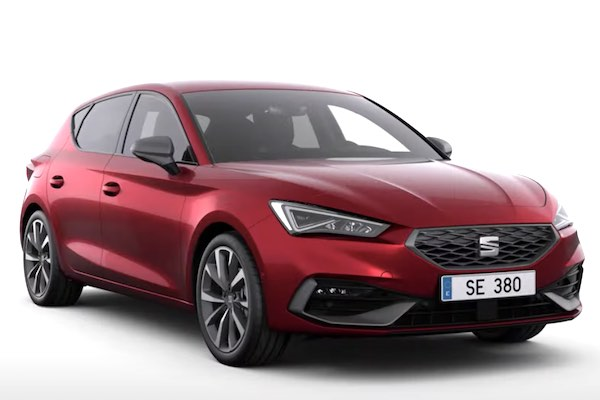 All New Seat Leon 1.5 TGI