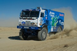 Kamaz Sports Truck on African Eco Rally 2015-1