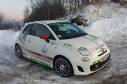 Victory for Abarth 500 with CNG