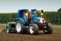 New Holland methane T6.140 agriculture