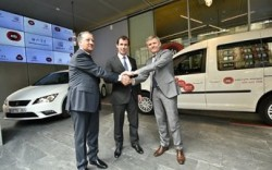 SEAT VW Spain and EDP collaborate on CNG May2015