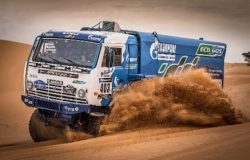 KAMAZ Rally truck at Eco Africa 2017