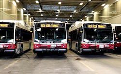 Nova CNG Buses for Red Deer Transit
