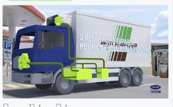 Petit Forestier: with Carrier Supra CNG Refrigerant System