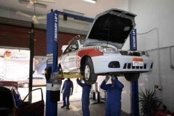 Egyptian CNG vehicle conversion