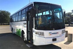DINA Linner G CNG bus for Unibus PV