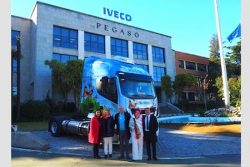 IVECO Stralis NP 400 GNL for Agustin Martinez