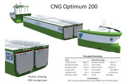 GEV CNG Optimum 200 gas carrier design