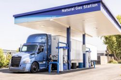 SoCalGas Fueling Station with Heavy-duty Truck