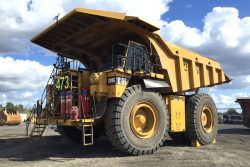 New Acland Mine HDCNG trial truck-473 CAT789C