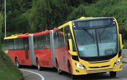 Scania Wins Record Order for Natural Gas Buses for Bogota
