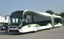 Ivory Coast IVECO CNG bus