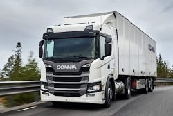 Scania G 410 elected Spain's Ecological Industrial Vehicle