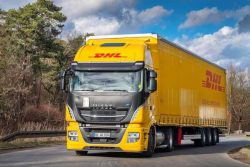 IVECO Stralis NP for DHL in Germany