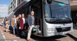 Biomethane-powered bus in Ireland for trials