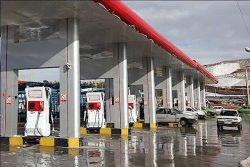 CNG filling station in Iran