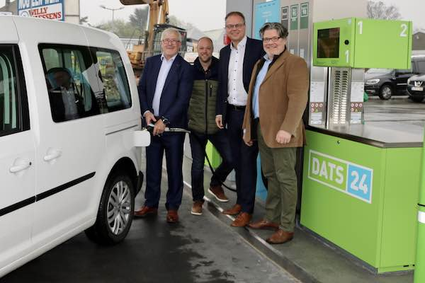 DATS24 opens CNG station at Sint-Pieters-Leeuw